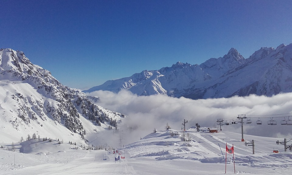 Air pollution in ski resorts